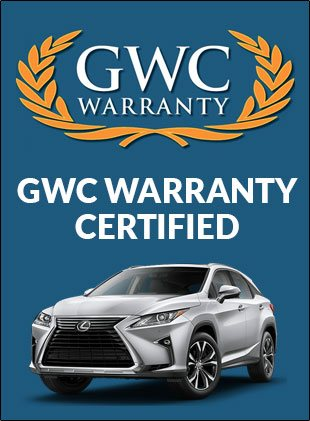 GWC Warranty certified